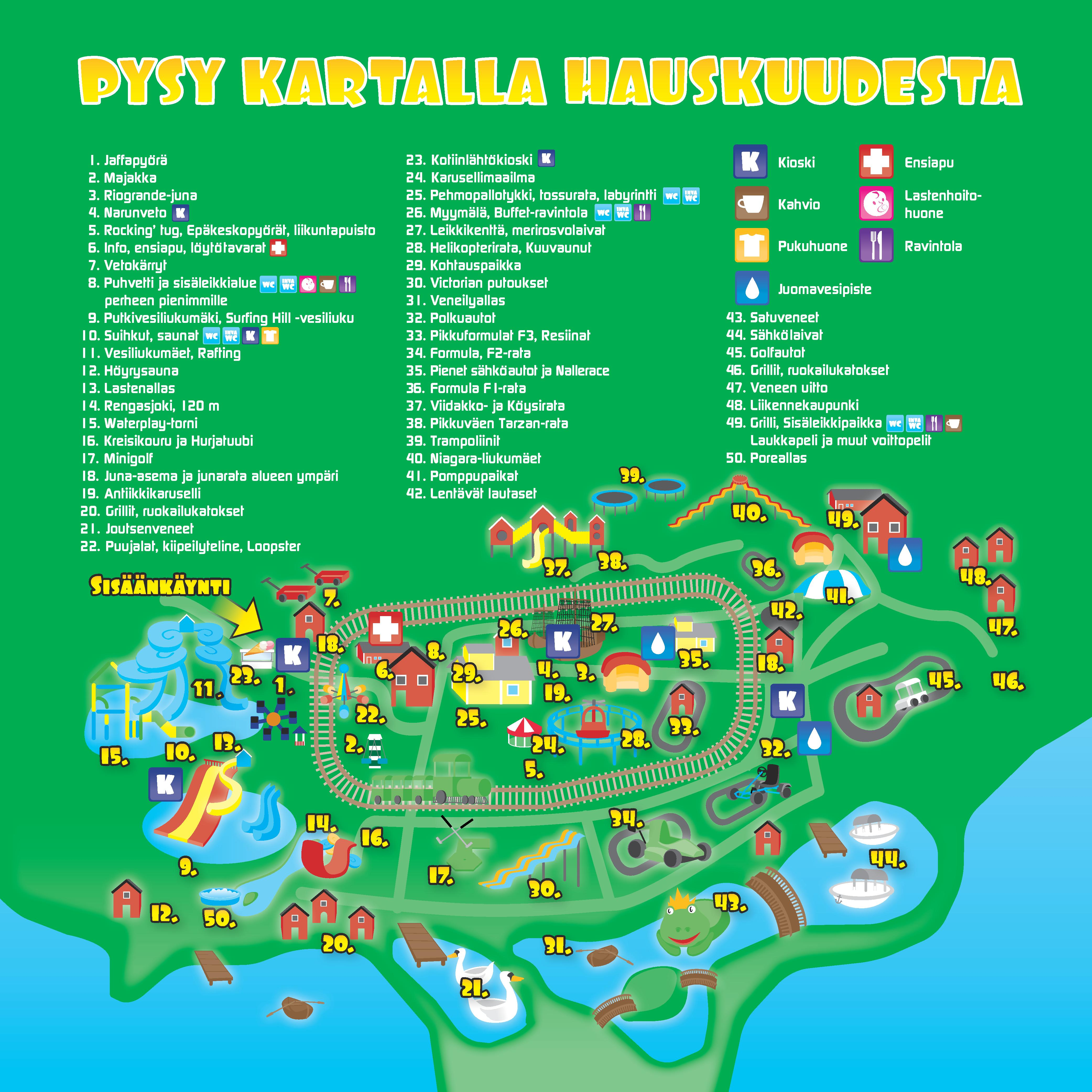 Park Map Puuhamaa